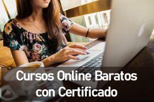 Cursos Online Baratos con Certificado